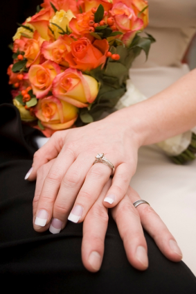 hands with wedding ring